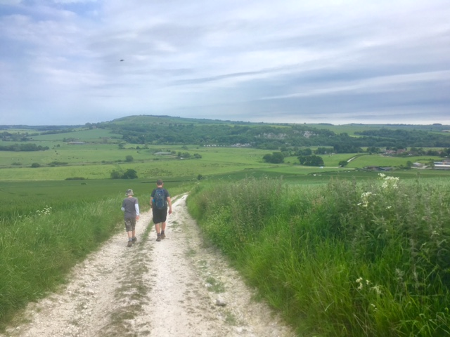 Walking the South Downs Way with children: Part 2 Buriton to Amberley