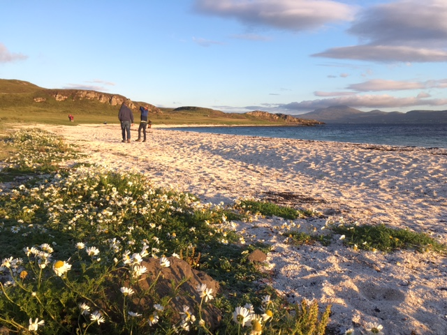 Coral beach, near Dunvegan