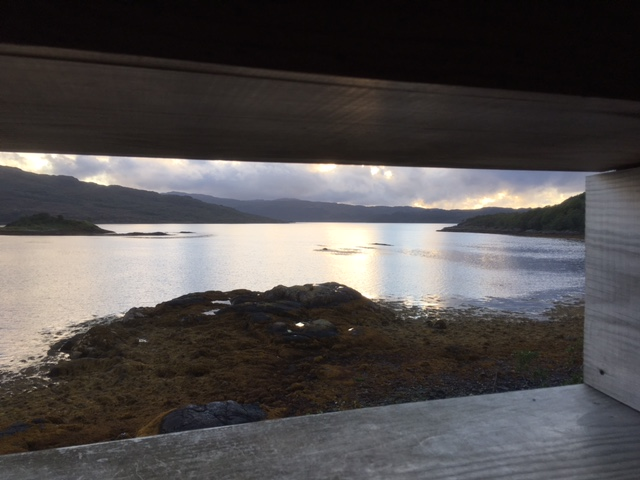View from Garbh Eilean Wildlife Hide