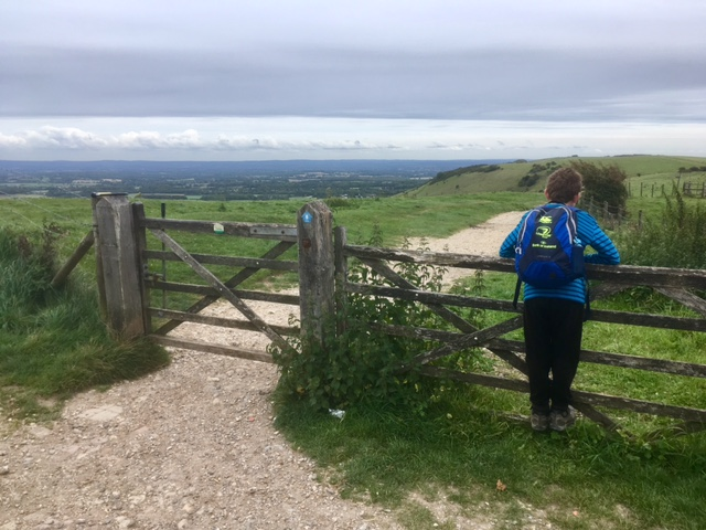 Walking the South Downs Way with children: Part 3 Amberley to near Lewes