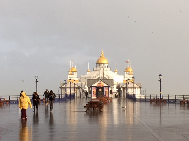 Eastbourne Pier in the rain