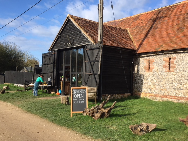 The Barn cafe at Turville Heath