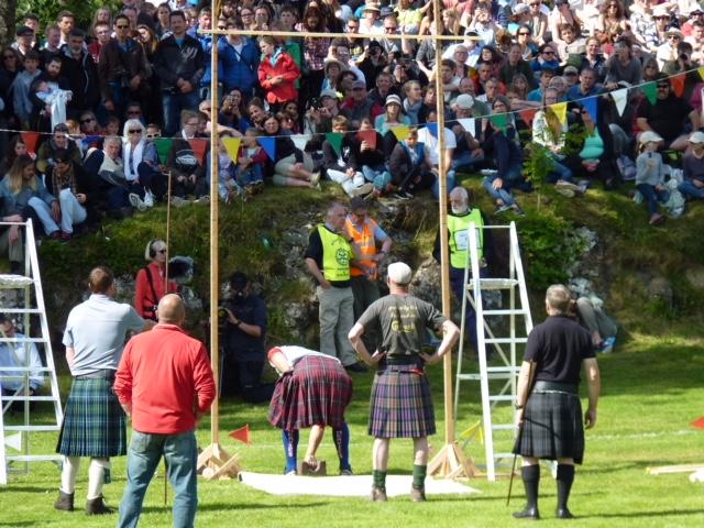 Putting the stone, Skye Highland Games