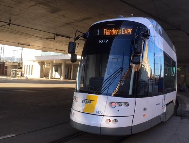 Ghent tram