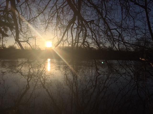River Thames, Goring, Oxfordshire