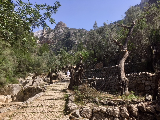 Walks on the GR221 around Soller, Majorca, Spain