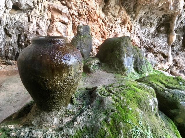 Clay pot, Cova de ses Alfabies