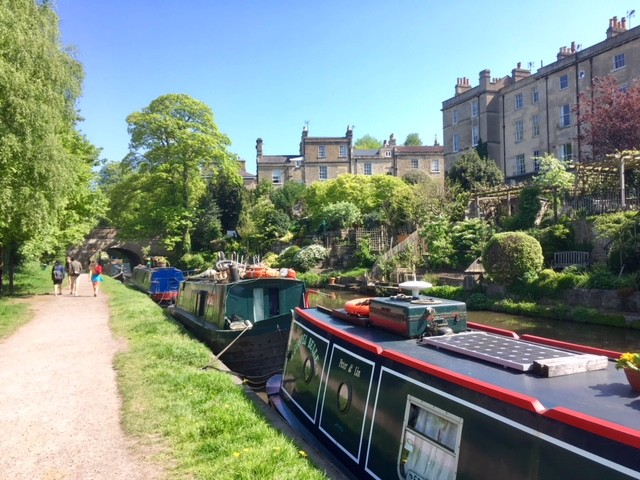 Kennet and Avon canal, Bath