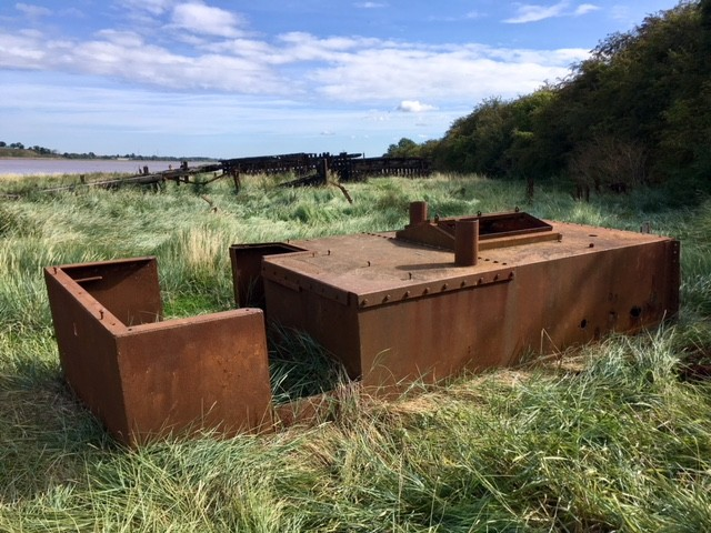 Purton ships graveyard, Gloucestershire