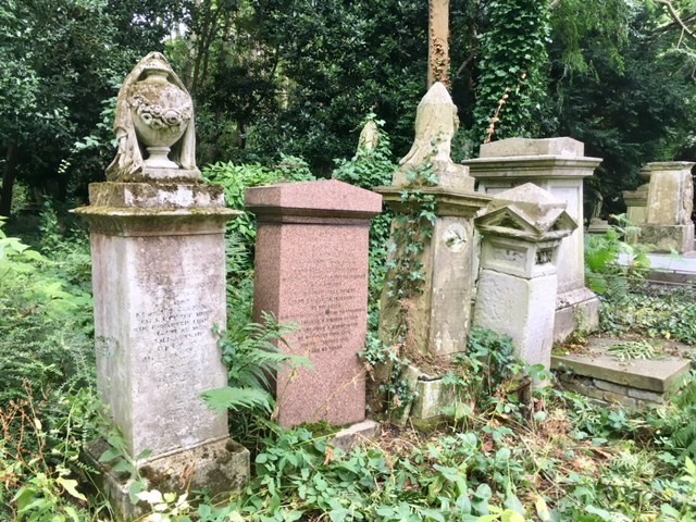 West Highgate cemetery, London