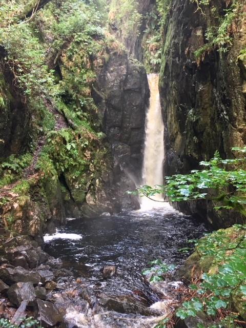 Stanley Ghyll Force, near Eskdale