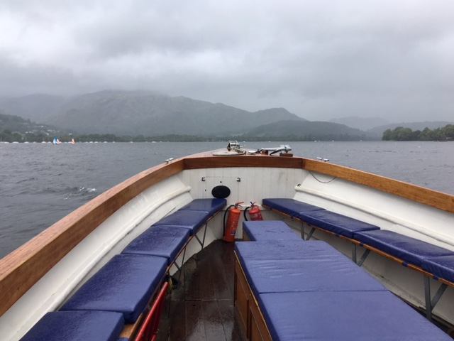 Coniston boat trip
