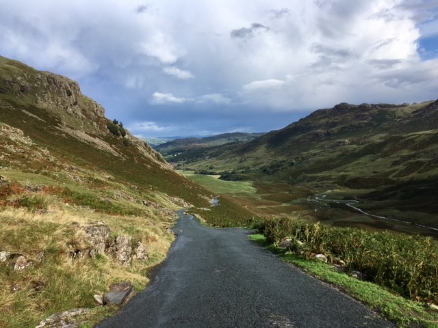 Descent from Wrynose Pass