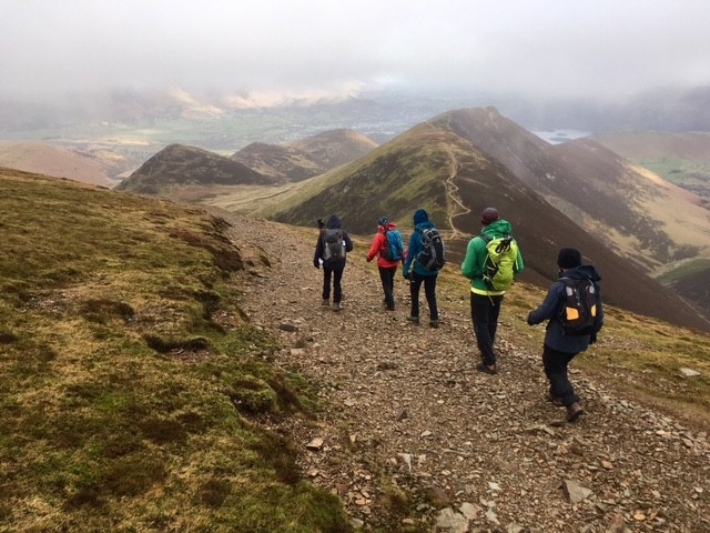 Sail to Causey Pike