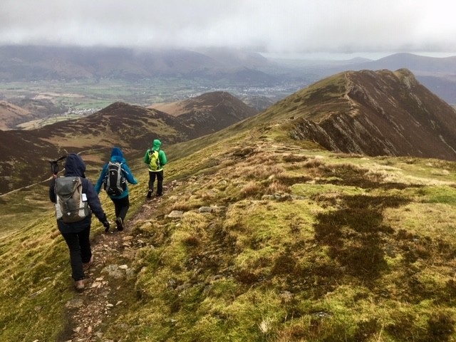 On to Causey Pike