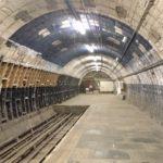 Eastern platform, Aldwych underground station