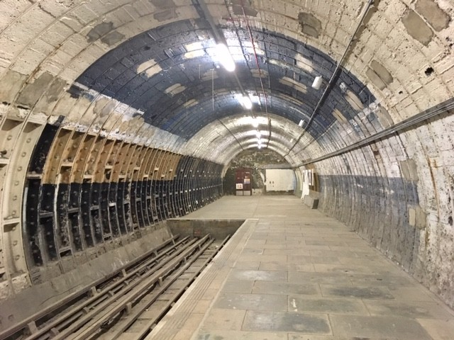 Hidden London tour of Aldwych tube station