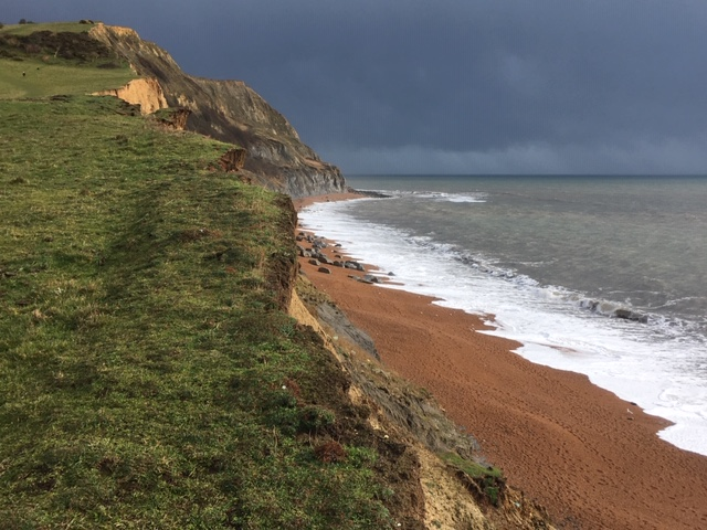 Near Seatown, Dorset coast