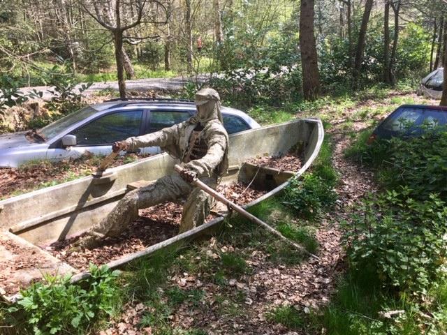 The Ostrich, David Hartland, Cotswold Sculpture Trail