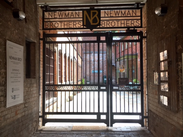 Newman Brothers coffin works, Birmingham