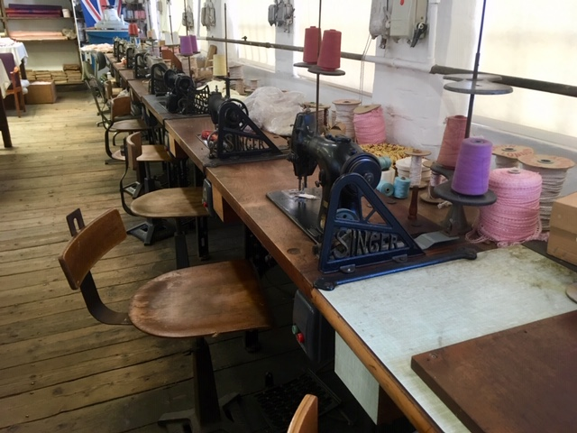 Sewing room, Coffin Works