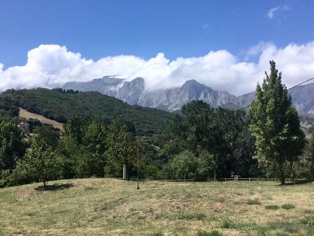 View from Picos de Europa visitor centre, Tama