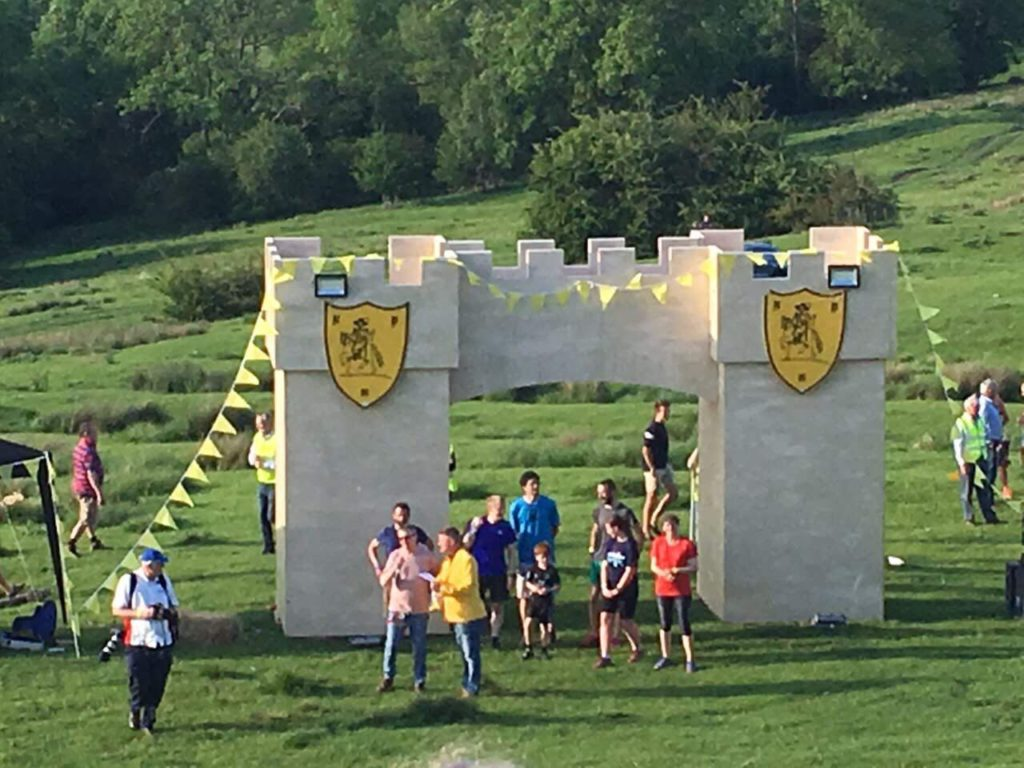 Medal ceremony, Cotswold Olimpicks