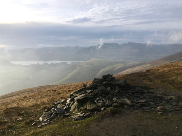 Out of the mist, Blencathra