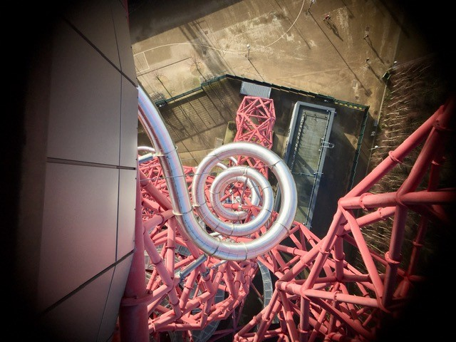View of Orbital slide from viewing platform
