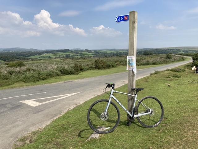View across Dartmoor, near Clearwater