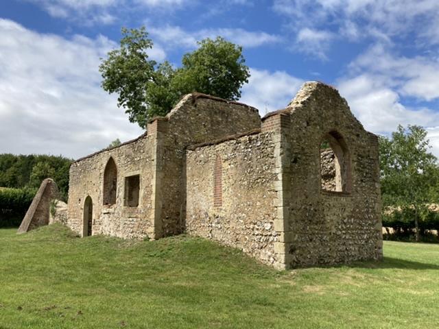 St James Church ruins, Bix