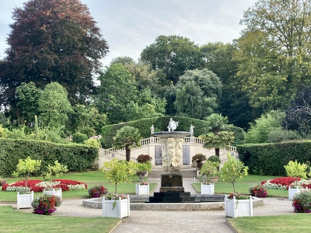 Mount Edgcumbe Italian garden