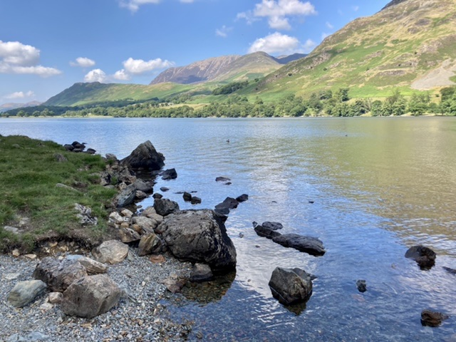 Buttermere lakeside view