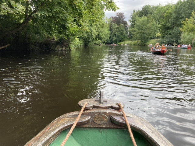 Rowing boats, Knaresborough