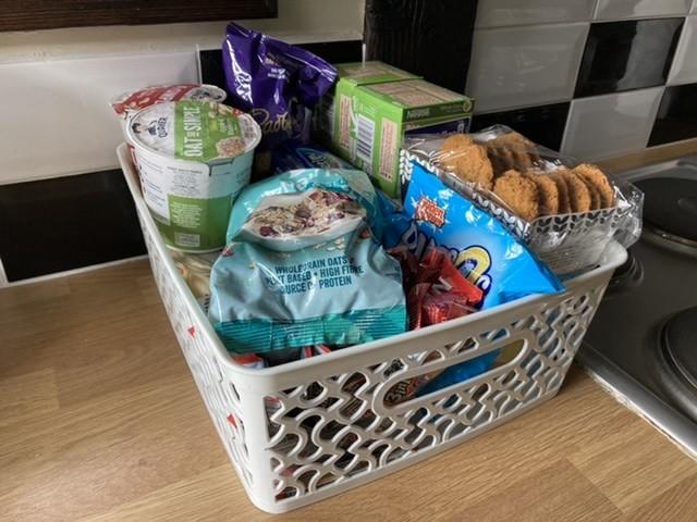 Bardon Mill Airbnb breakfast box